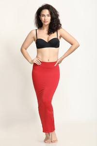 Zivame Mermaid Saree Shapewear- Red