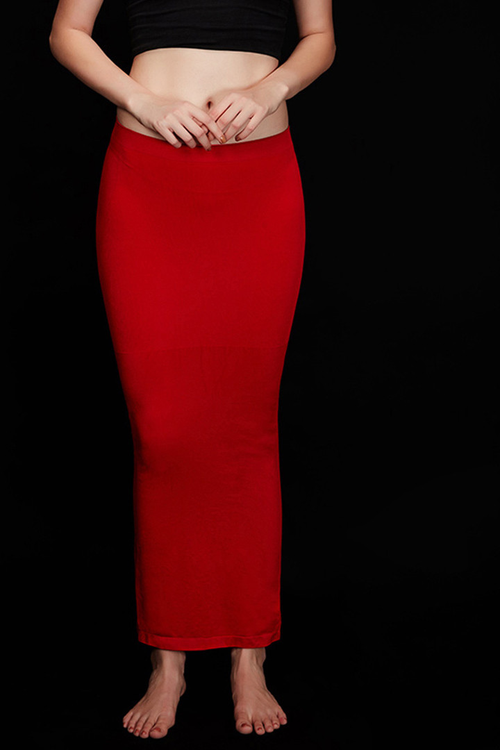 Zivame Mermaid Saree Shapewear Red