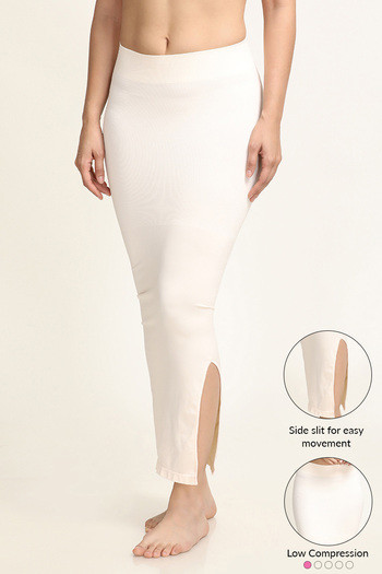 f3df859557d94 Buy Zivame Smoothening Low Control Mermaid Saree Shapewear ™- White at Rs.899  online