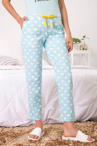 Zivame Three Musketeers Sleep Pyjama Blue N Print