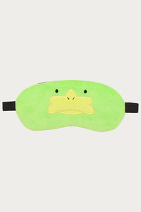 Zivame Sleep Eye Mask With Cooling Pads - Green