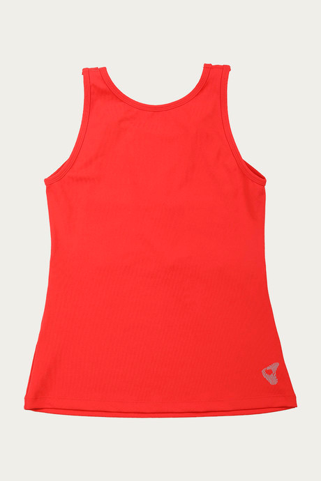 Zelocity B yond Skin Fit Tank Top Red