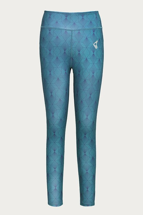 Zelocity Skin Fit Legging Teal