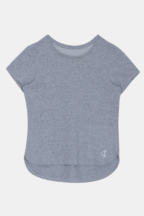 Zelocity Easy Movement T Shirt Grey