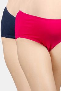 Buy Adira Pack Of 2 Maternity Panties - Dark Pink  Navy Blue