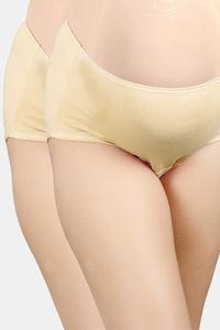 Buy Adira Pack Of 2 Maternity Panties - Skin
