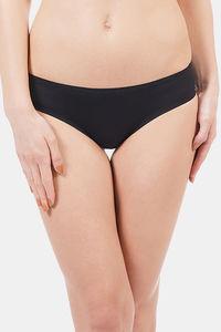 Buy Amante Vanish Seamless Bikini Panty - Black