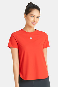 Buy Amante A-LIFE Seamless Fitness T-shirt-Red