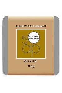 Buy 50 ap Luxury Bathing Bar - Oud Musk 125 gm
