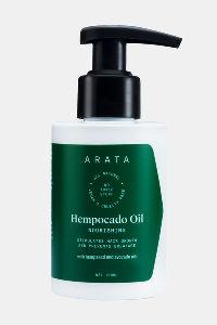 Buy Arata Natural Nourishing Hempocado Hair Oil With Hempseed & Avocado Oil  - 100 ML - White
