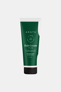 Buy Arata Natural Styling & Hold Hair Cream With Organic Flaxseed & Olive Oil | All-Natural, Vegan & Cruelty-Free | Styling & Hair Growth Formula For Men & Women - (50 G)