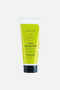 Buy Arata Natural Hydrating Face Serum Gel With Aloe Vera,Turmeric,Matcha Green Tea & Glutathione For Combination To Oily Skin || All-Natural, Vegan & Cruelty-Free || Restores & Renew  Skin'S Natural Radiance (100 Ml)