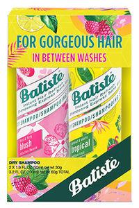 Buy Batiste Dry Hair Shampoo - Coconut & Exotic Tropical 50 ml + Floral & Flirty Blush 50 ml