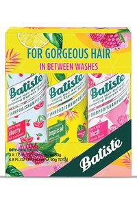 Buy Batiste Dry Hair Shampoo - Coconut & Exotic Tropical 50 ml + Fruity & Cheeky Cherry 50 ml + Floral & Flirty Blush 50 ml