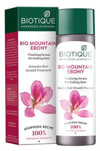 Buy Biotique Mountain Ebony Vitalizing Serum for Falling Hair 120ml