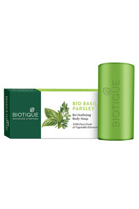 Buy Biotique Basil and Parsley Revitalizing Body Soap 150 gm