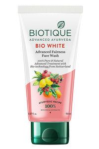 Buy BIO WHITE WHITENING AND BRIGHTENING FACE WASH (all skin)