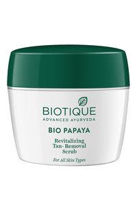 Buy BIO PAPAYA EXFOLIATING FACE WASH (scrub wash)