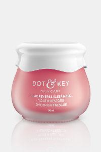Buy Dot & Key Overnight Rescue Sleep Mask (70 GM) - Pink