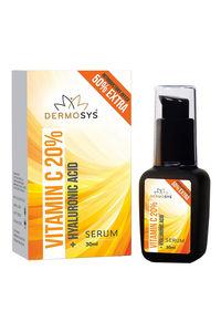 Buy Dermosys Vitamin C 20% + Hyaluronic Acid Face Serum 30 ml