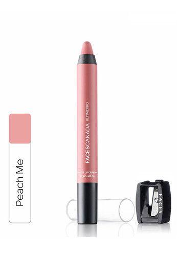Faces Canada Ultime Pro Matte Lip Crayon Peach Me 08 2.8 gm