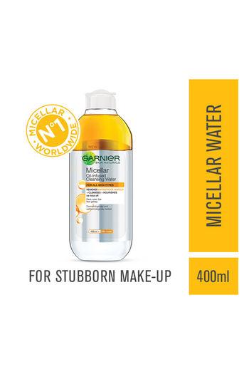 Garnier Skin Naturals, Micellar Oil Infused Cleansing Water   400 Ml