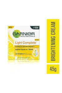 Buy Garnier Bright Complete Vitamin C Serum Cream Uv - 45 G