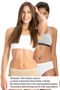 Buy Jockey Cotton Hipster Brief (Pack of 2)- Light Assorted