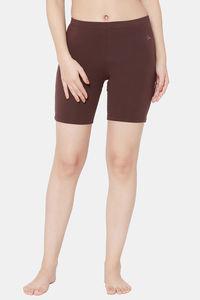 Buy Juliet Skin Fit Shorts - Coffee Brown