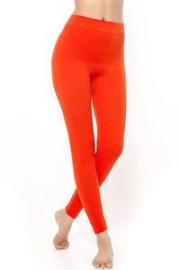 Buy Zivame PowerStretch Seamless Toning Leggings-Red