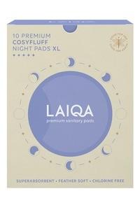 Buy LAIQA Premium Cosyfluff Night Pads (XL) 10's