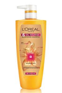 Buy L'Oreal Paris 6 Oil Nourish Shampoo - 704 Ml