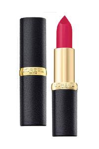 Buy L'Oreal Paris Color Riche Moist Matte Lipstick, 214 Raspberry Syrup - 3.7 G