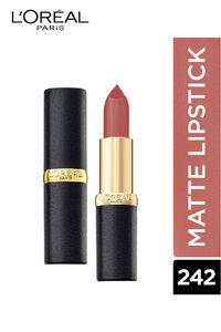 Buy L'Oreal Paris Color Riche Moist Matte Lipstick, 242 Rose Nuance - 3.7 G