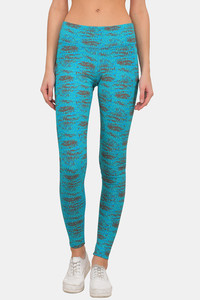 Buy Lavos Bamboo With Organic Cotton Anti Microbial Skin Fit Pants  - Blue