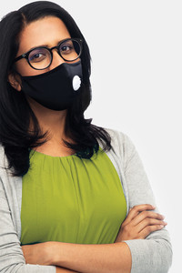 Buy Lavos Reusable Anti Microbial 4 Layers With Removable Filter Face Mask - Blue