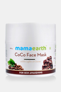 Buy Mamaearth CoCo Face Mask For Glowing Skin With Coffee & Cocoa 100 Gm (Pack of 1) - Brown