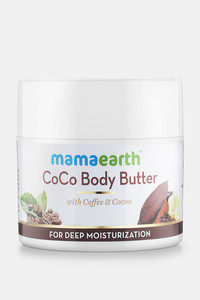 Buy Mamaearth CoCo Body Butter For Dry Skin with Coffee & Cocoa for Deep Moisturization 200 Gm (Pack of 1) - Light Brown