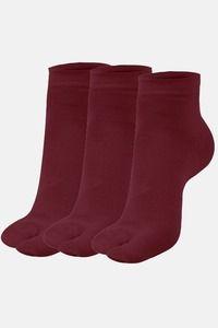 Buy Next2Skin Ankle Thumb Socks (Pack Of 3 ) - Maroon