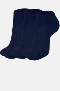 Buy Next2Skin Low Ankle Thumb Socks (Pack Of 3 ) - Navyblue