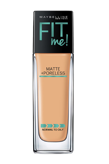 Maybelline New York Fit Me Matte+Poreless Liquid Foundation, 238 Rich Tan   30 Ml