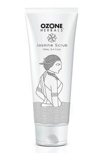 Buy Ozone Herbals Jasmine Scrub 100 ml