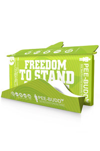 Buy Pee-Buddy Female Disposable Portable Urination Device(5 Funnels) - Green
