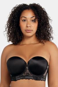 Buy Parfait Amber Strapless Bra - Black