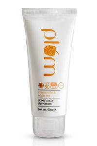Buy Plum Chamomile & White Tea Sheer Matte Day Cream - SPF 50 60 ml