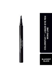 Buy Revlon Colorstay Dramatic Wear Liquid Eye Pen-Blackest Black 1.6g - Wing Line