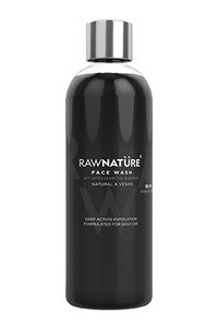 Buy Raw Nature Face Wash - Activated Charcoal & Quinoa 100 gm