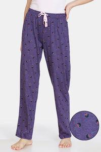 Buy Rosaline Spatial Speckle Knit Cotton Pyjama  - Blue Ribbon
