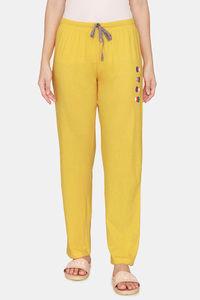 Buy Rosaline Just Treats Knit Cotton Pyjama - Saffron