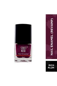 Buy Streetwear Nail Enamel 8 ml - Rich Plum
